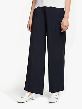 John Lewis & Partners Wide Leg Tailored Trousers
