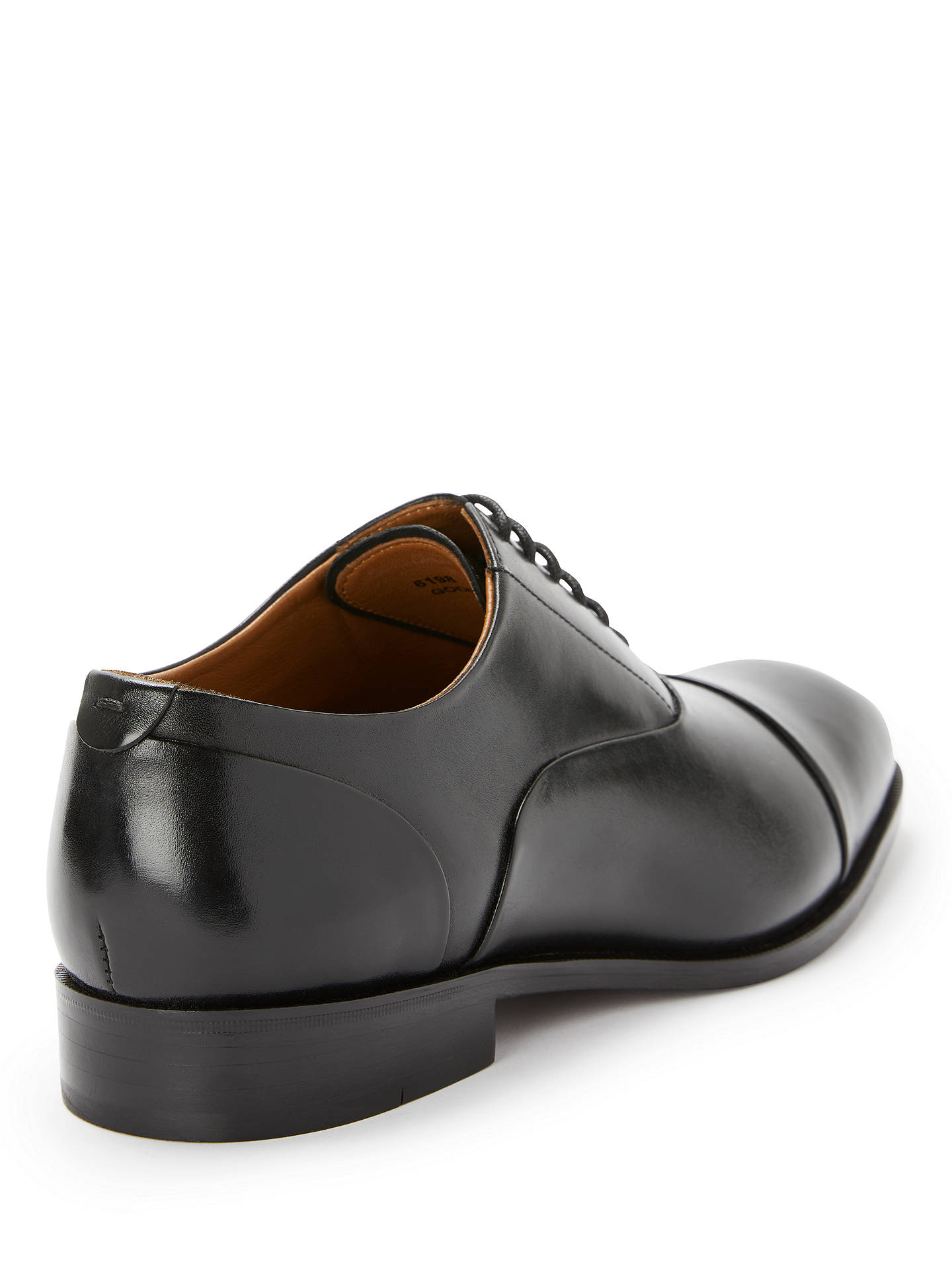 Buy John Lewis & Partners Charles Oxford Shoes, Black, 9 Online at johnlewis.com