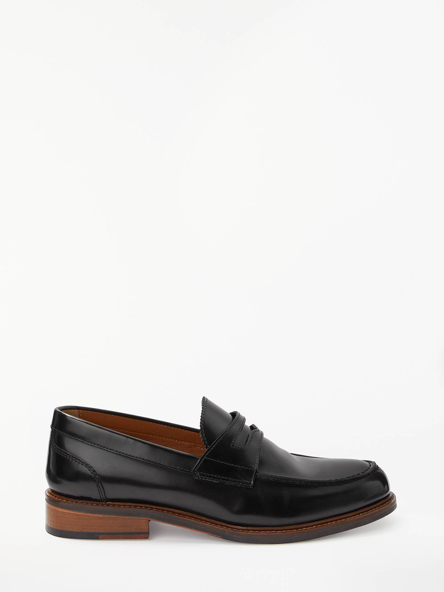 BuyJohn Lewis & Partners Duke Loafers, Black, 9 Online at johnlewis.com