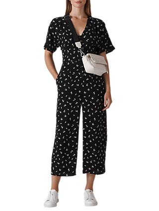 edbc2e5f697a Whistles Camilla Print Button Jumpsuit