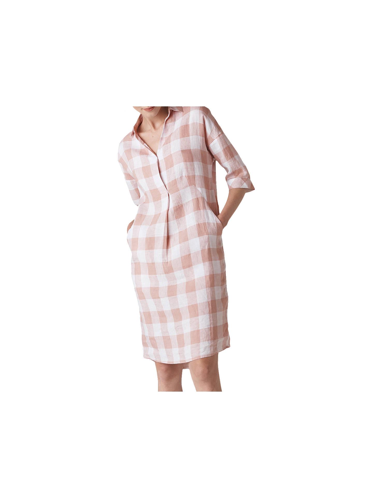 f14ccca2c5 Buy Whistles Lola Gingham Linen Dress