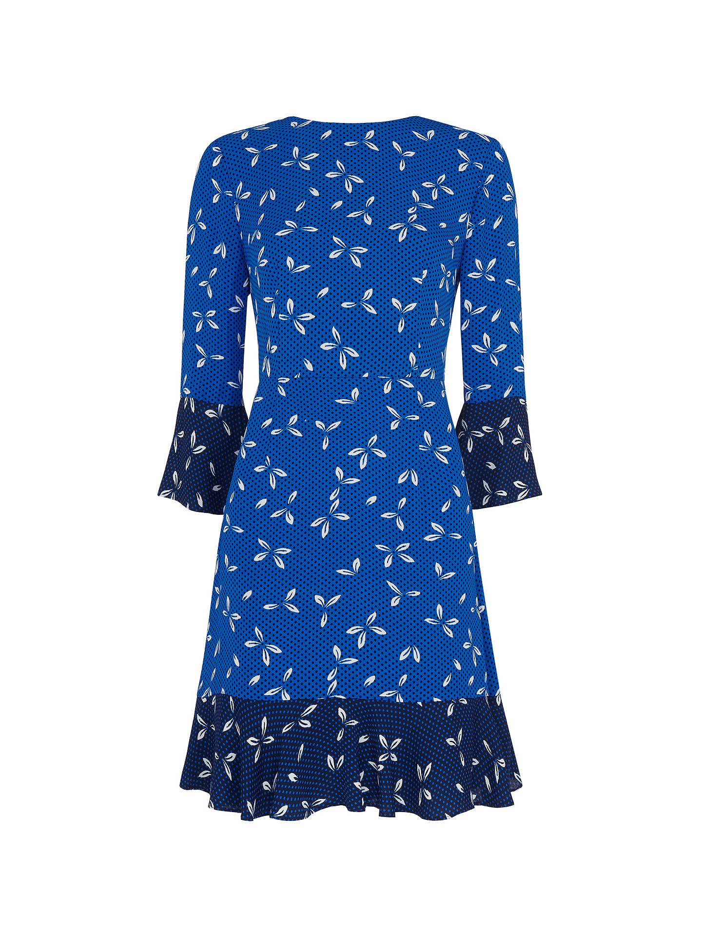 BuyWhistles Polly Spot Print, Blue/Multi, 6 Online at johnlewis.com