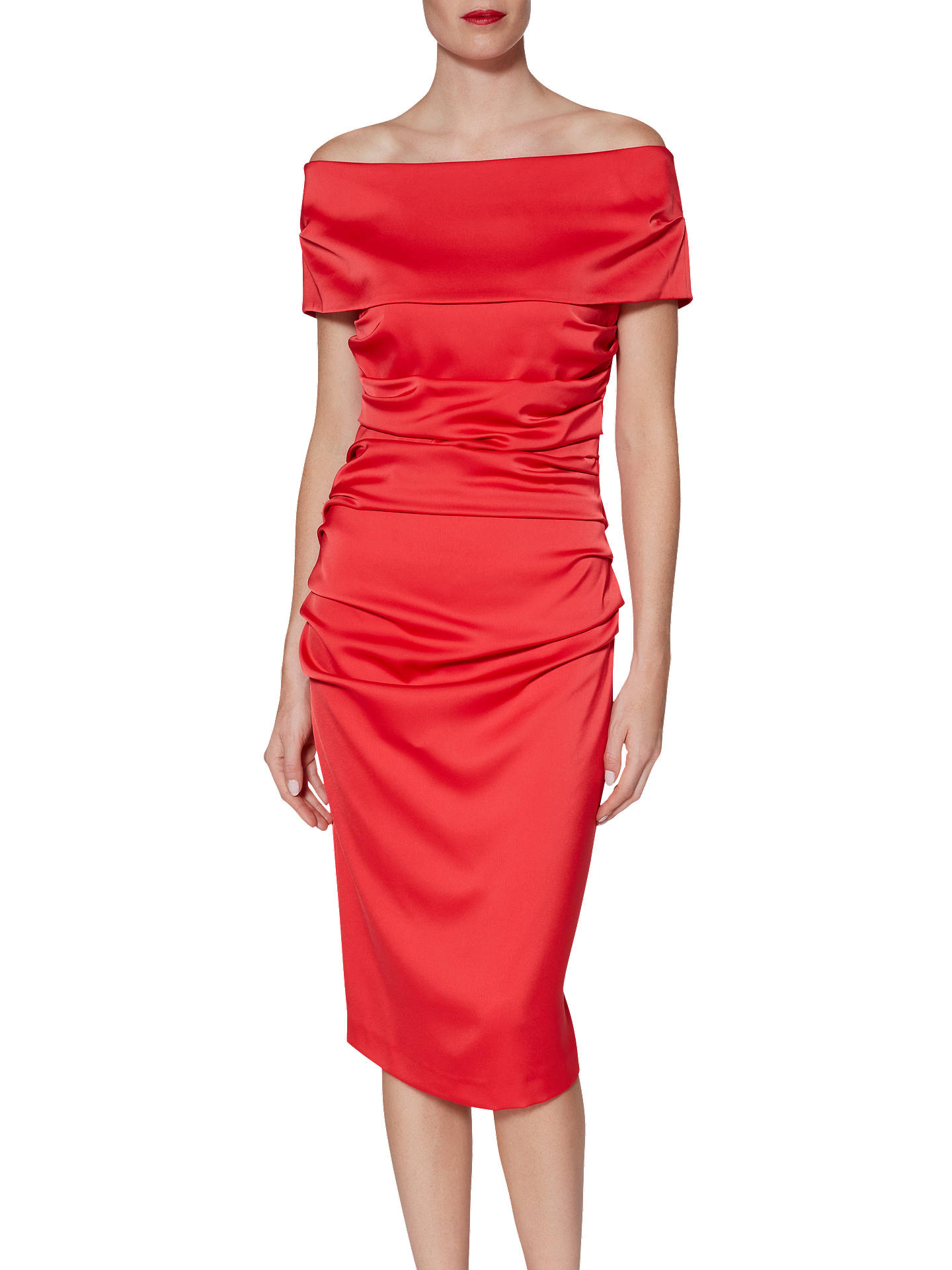 e8f0093539d97f Buy Gina Bacconi Marisa Matte Satin Dress