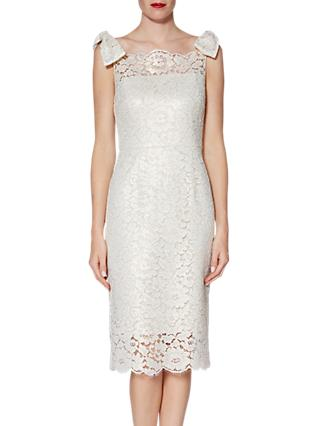 Gina Bacconi Hazel Lace Bow Dress