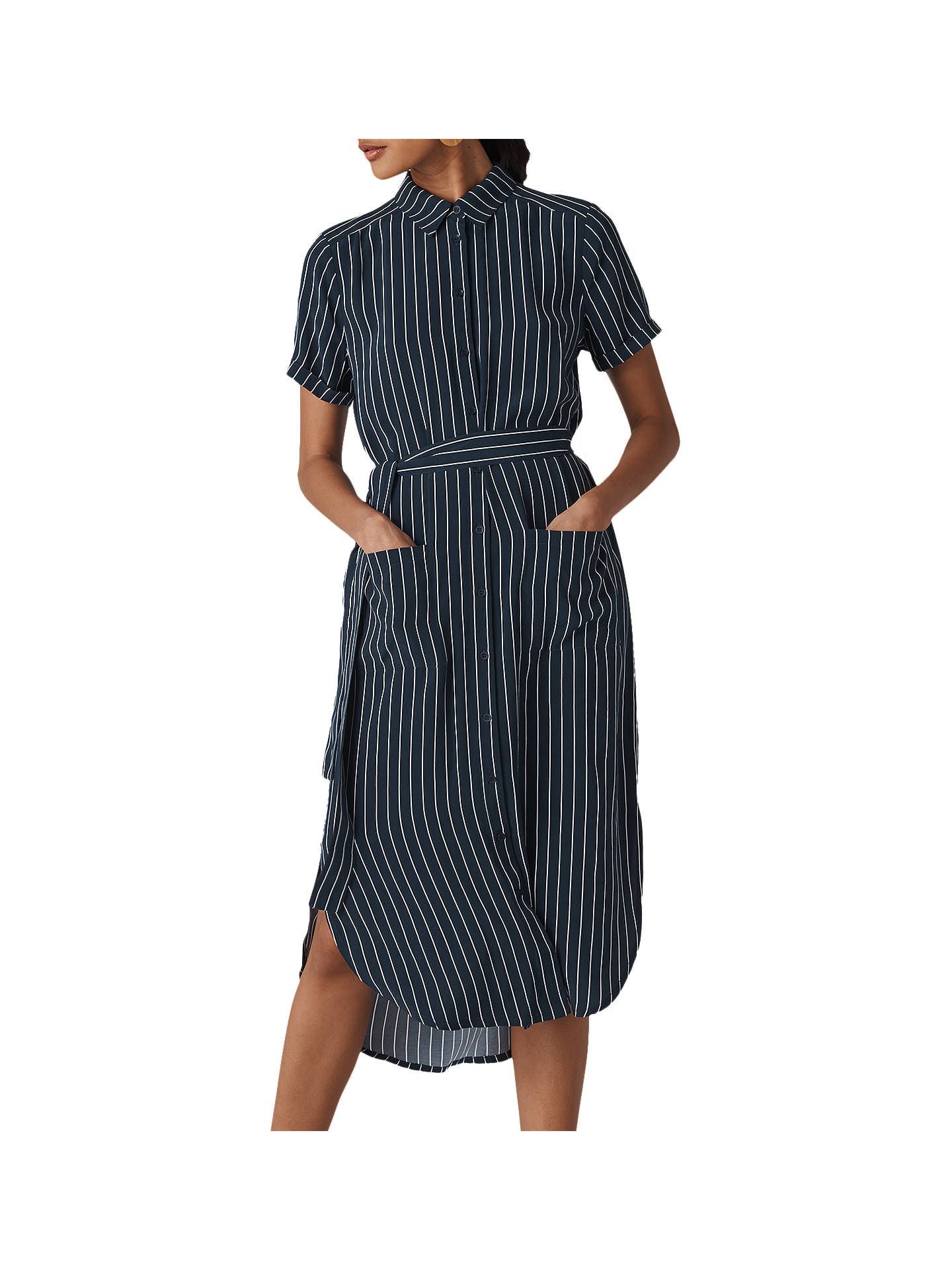 baa2ad85ff5 Buy Whistles Montana Stripe Shirt Dress