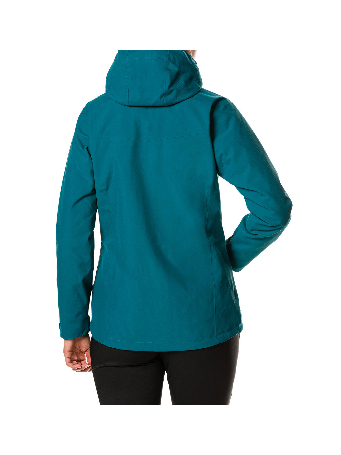 BuyBerghaus Hillwalker Women's Waterproof Jacket, Deep Lagoon, 8 Online at johnlewis.com