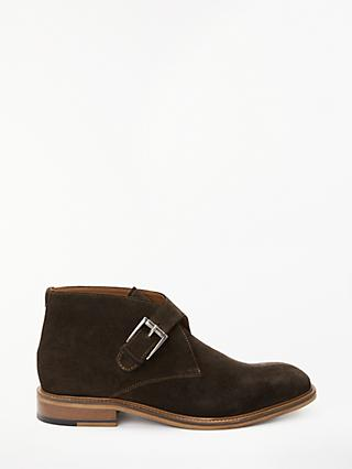 John Lewis & Partners Craig Monk Boots, Brown