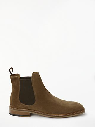 John Lewis & Partners Chester Chelsea Boots, Brown
