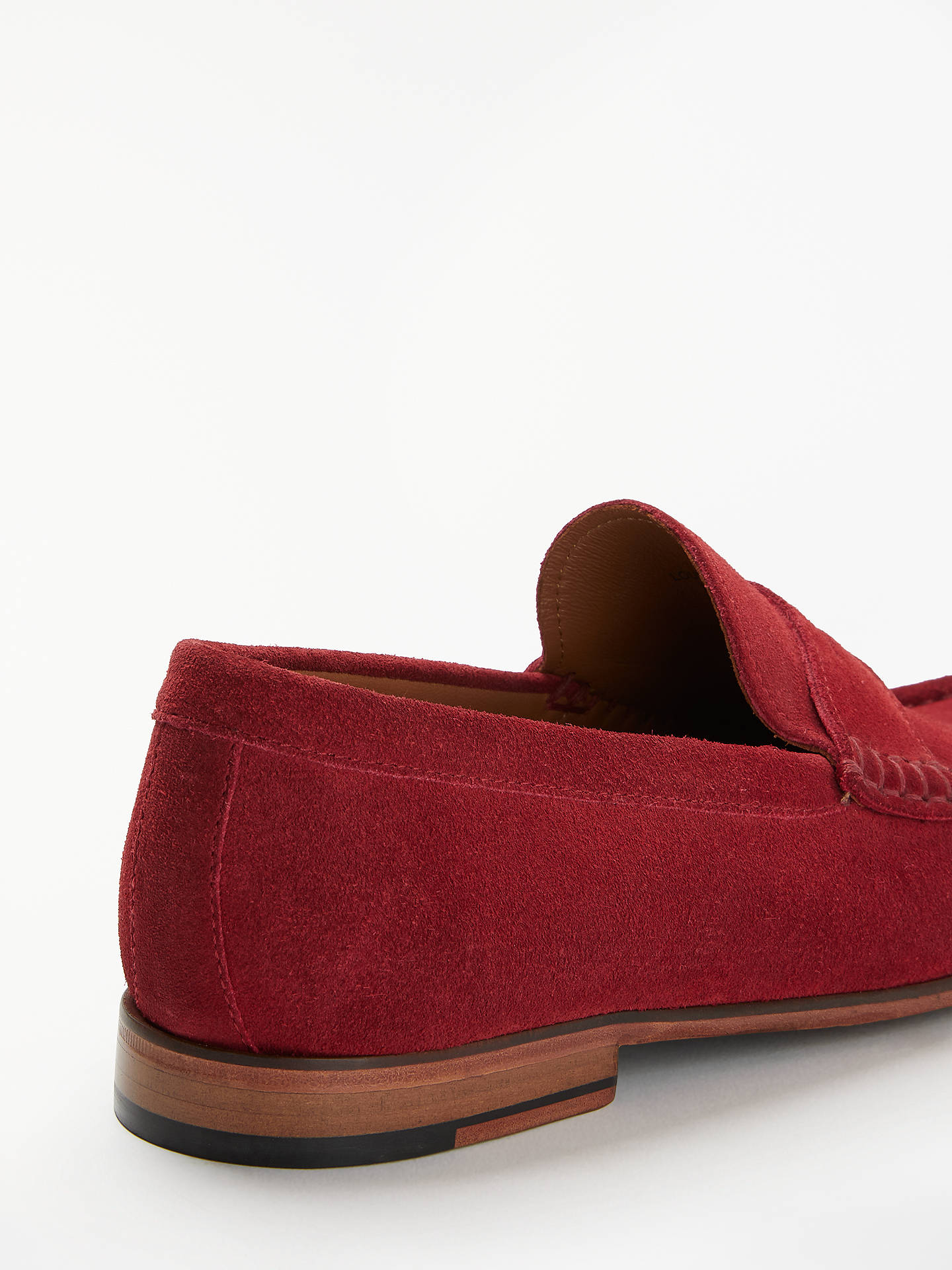 66bc83baa0a ... Buy John Lewis   Partners Louis Suede Penny Loafers
