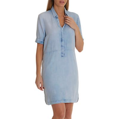 Betty Barclay Denim Shirt Dress, Blue Bleached Denim