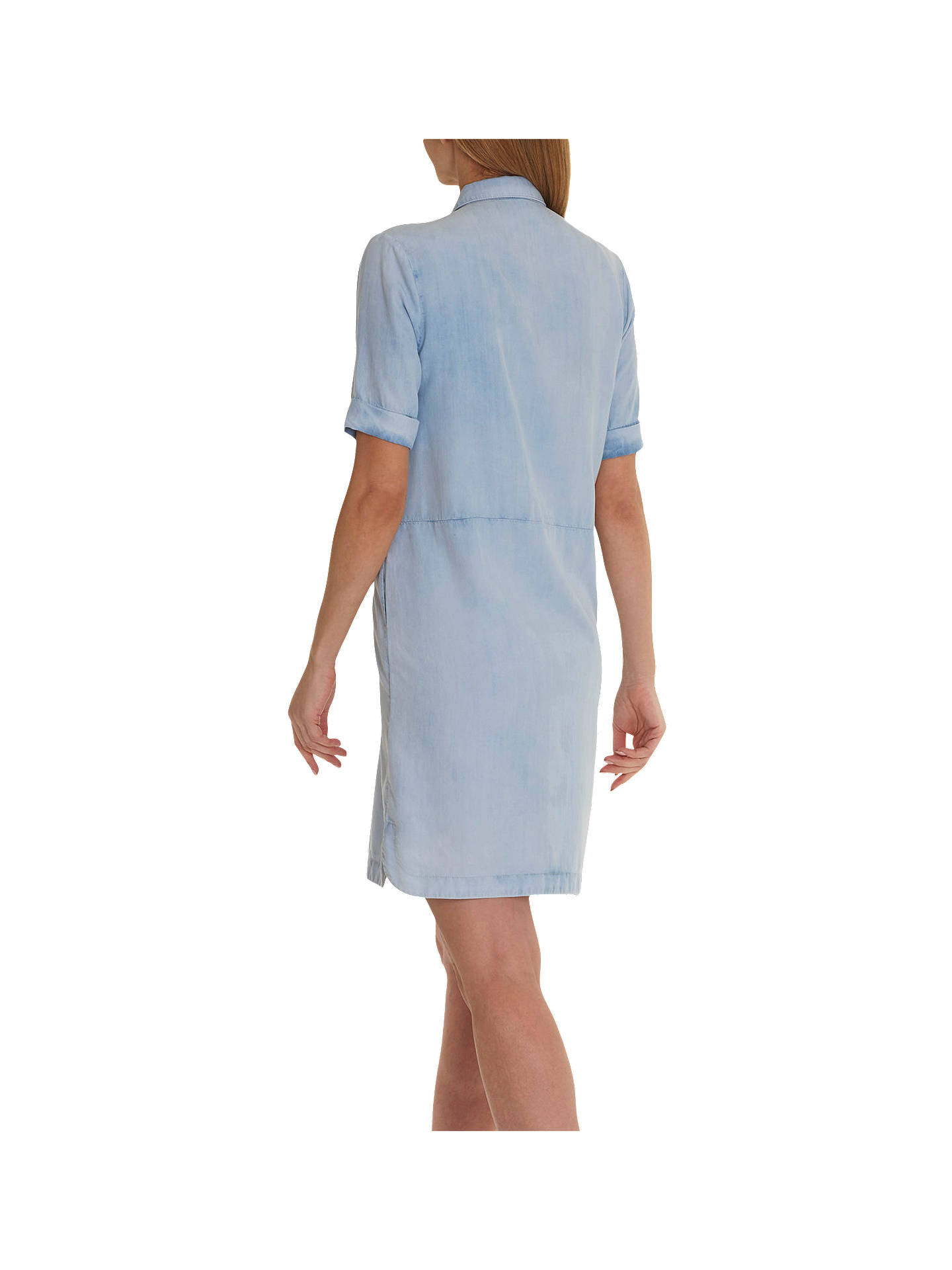 Buy Betty Barclay Denim Shirt Dress, Blue Bleached Denim, 10 Online at johnlewis.com
