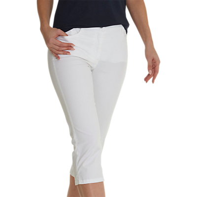 Betty Barclay Cropped Slim Jeans, Bright White
