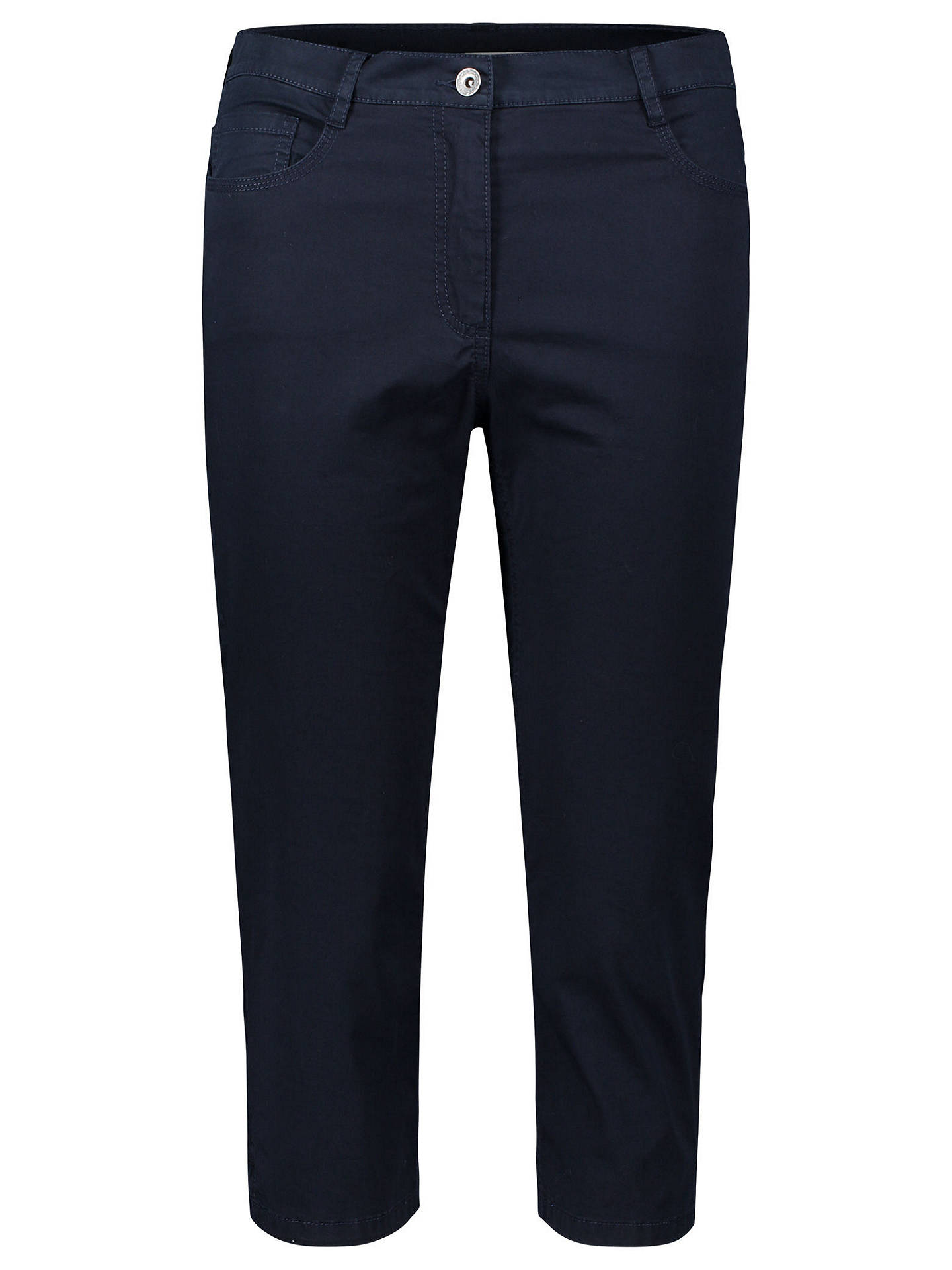 Buy Betty Barclay Cropped Slimline Jeans, Dark Sky, 8 Online at johnlewis.com