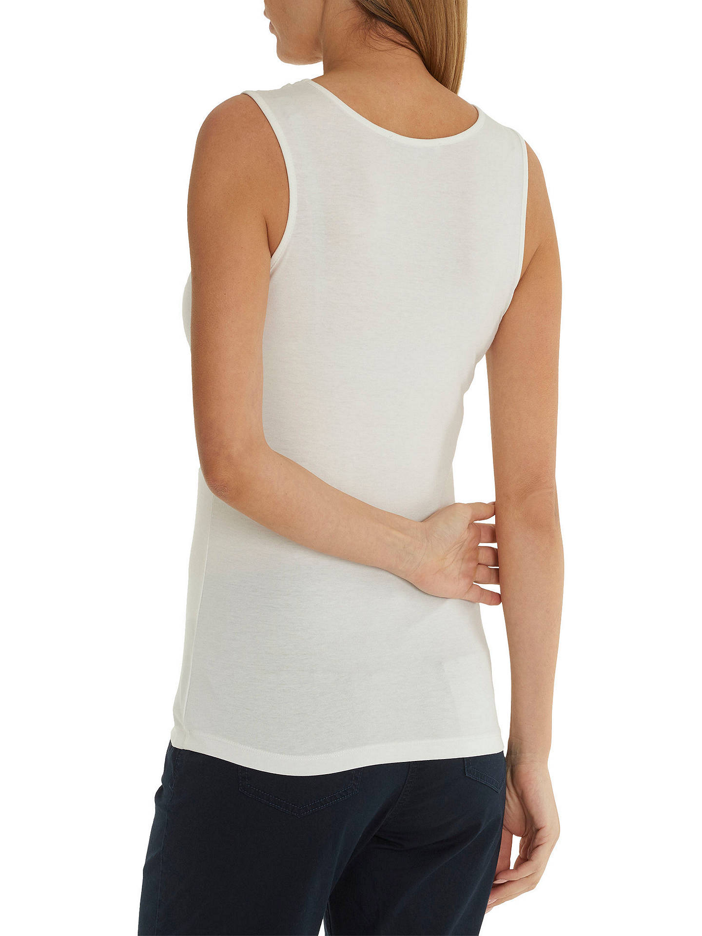 BuyBetty Barclay Vest Top, Off White, 10 Online at johnlewis.com