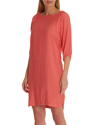 Buy Betty Barclay Shift Dress, Peach Coral, 10 Online at johnlewis.com