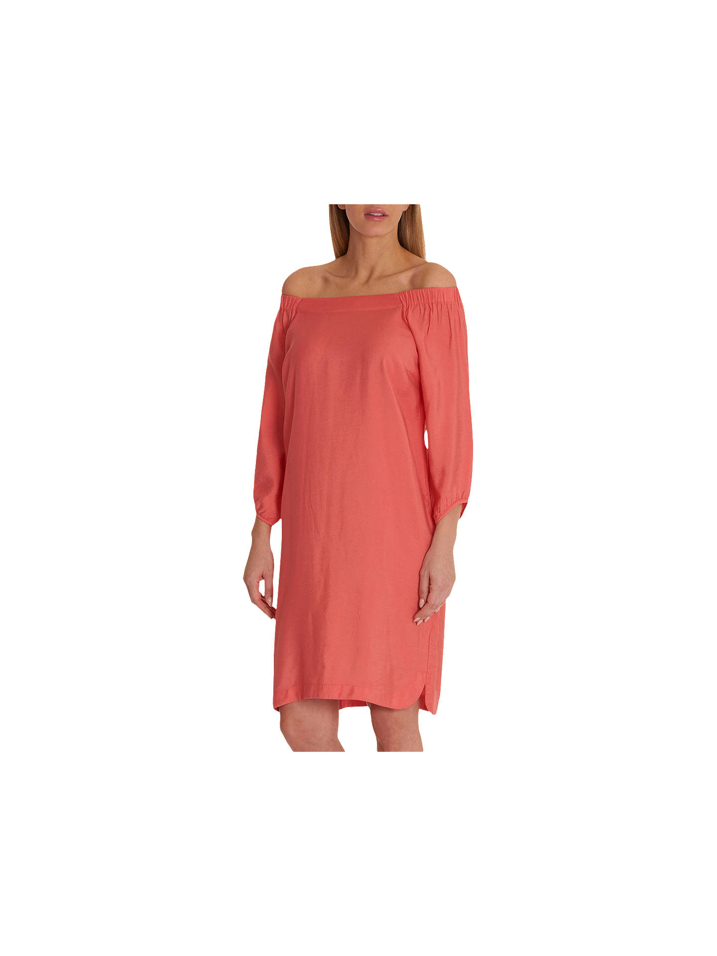 BuyBetty Barclay Shift Dress, Peach Coral, 12 Online at johnlewis.com