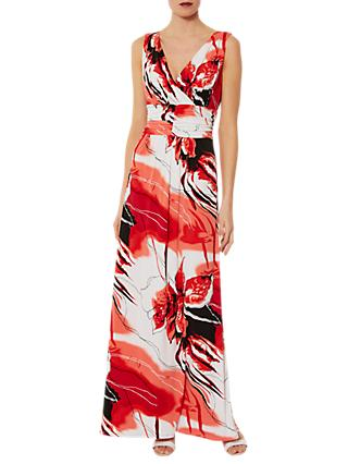 Gina Bacconi Lexi Maxi Dress, Red