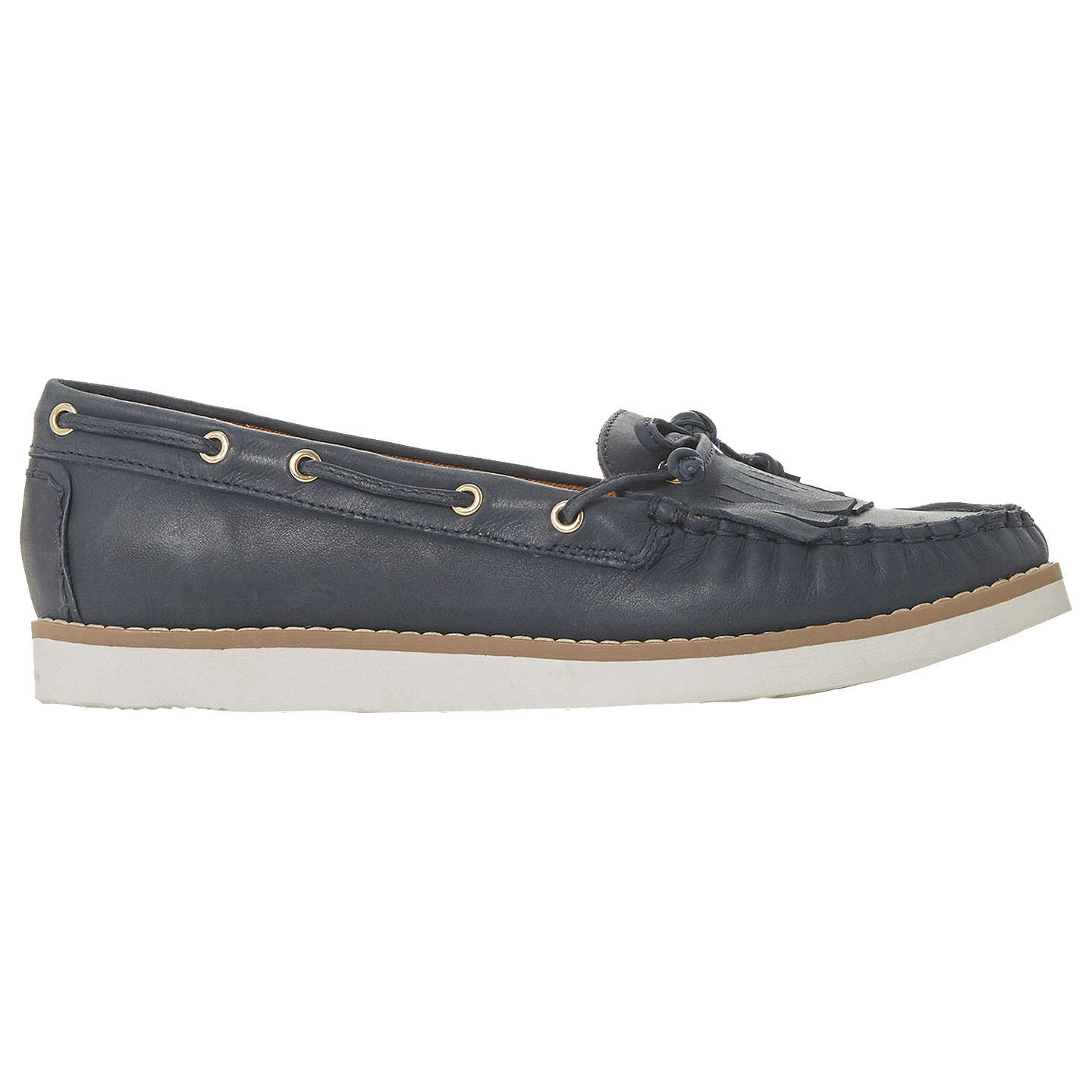 new arrival sale online high quality buy online Navy leather 'Ginney' loafers lL9jdwE