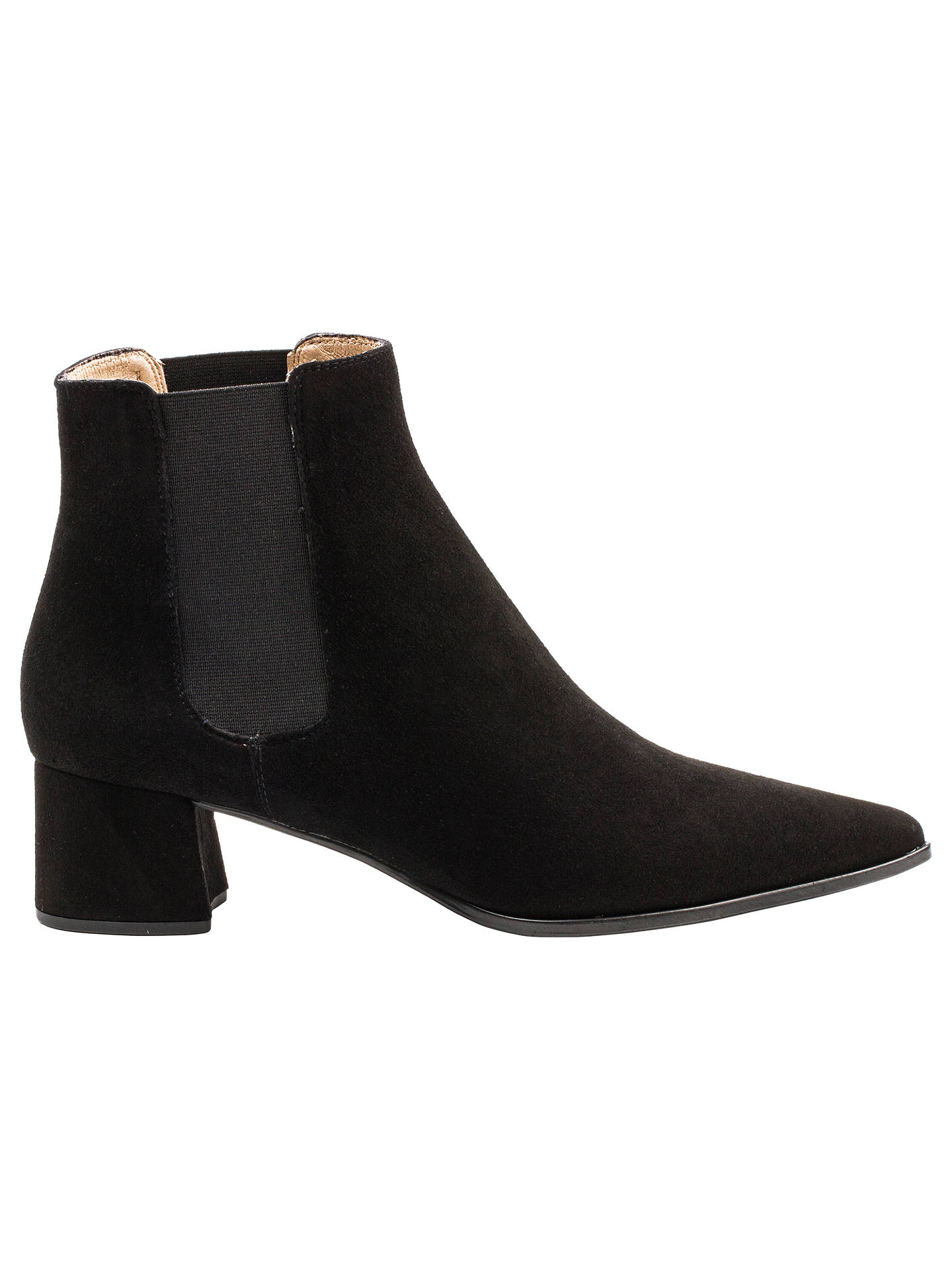 04eede44c98f Unisa Jiste Block Heeled Pointed Toe Ankle Boots at John Lewis ...