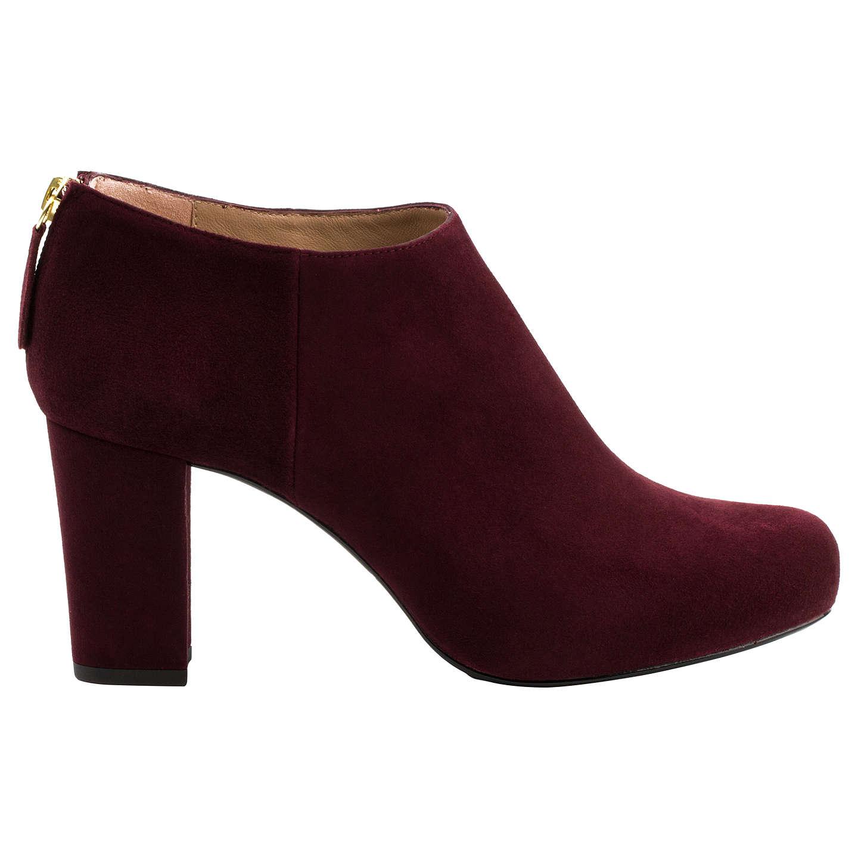 e1ca3a2a668 Unisa Grape Heeled Nicolas Block Boots Shoe r4rqR --openly ...
