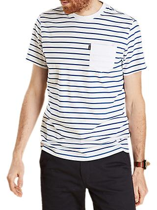 Barbour Tow Stripe T-Shirt, White