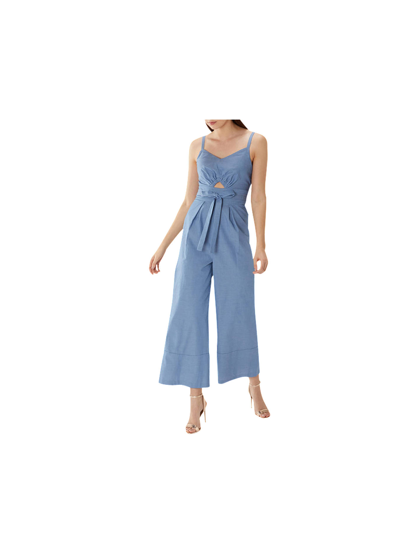 top-rated newest huge range of classic Coast Tatiana Jumpsuit, Blue at John Lewis & Partners