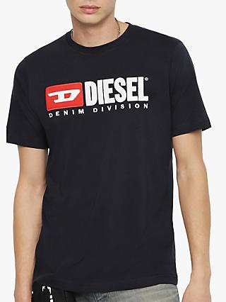Diesel T-Just Division Short Sleeve Logo T-Shirt
