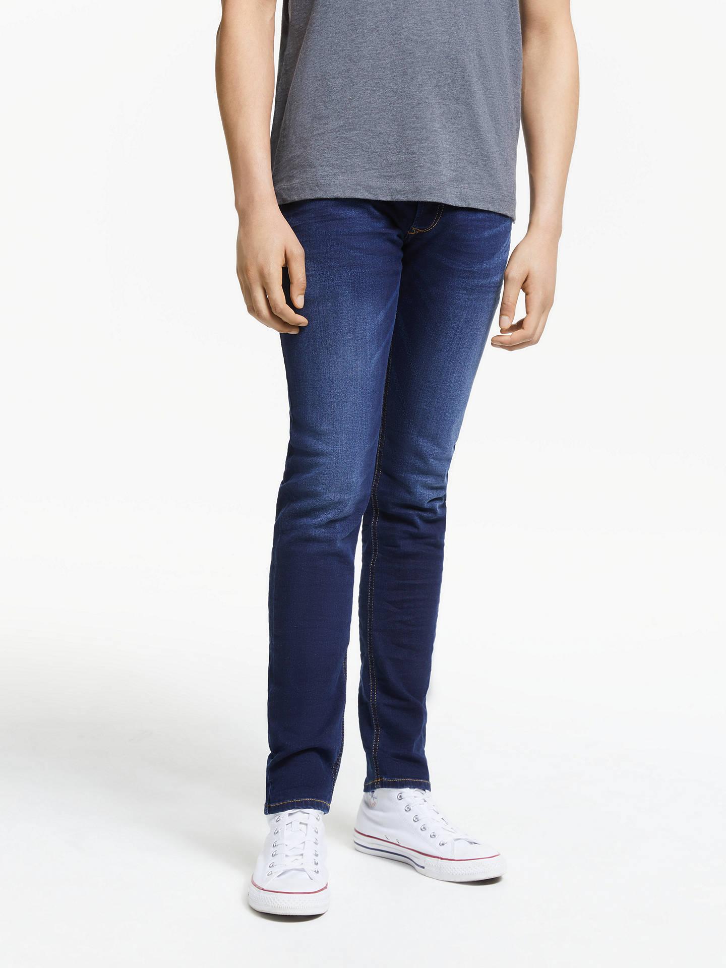 53aa7cde Buy Diesel Sleenker Skinny Jeans, Blue, 30S Online at johnlewis.com ...