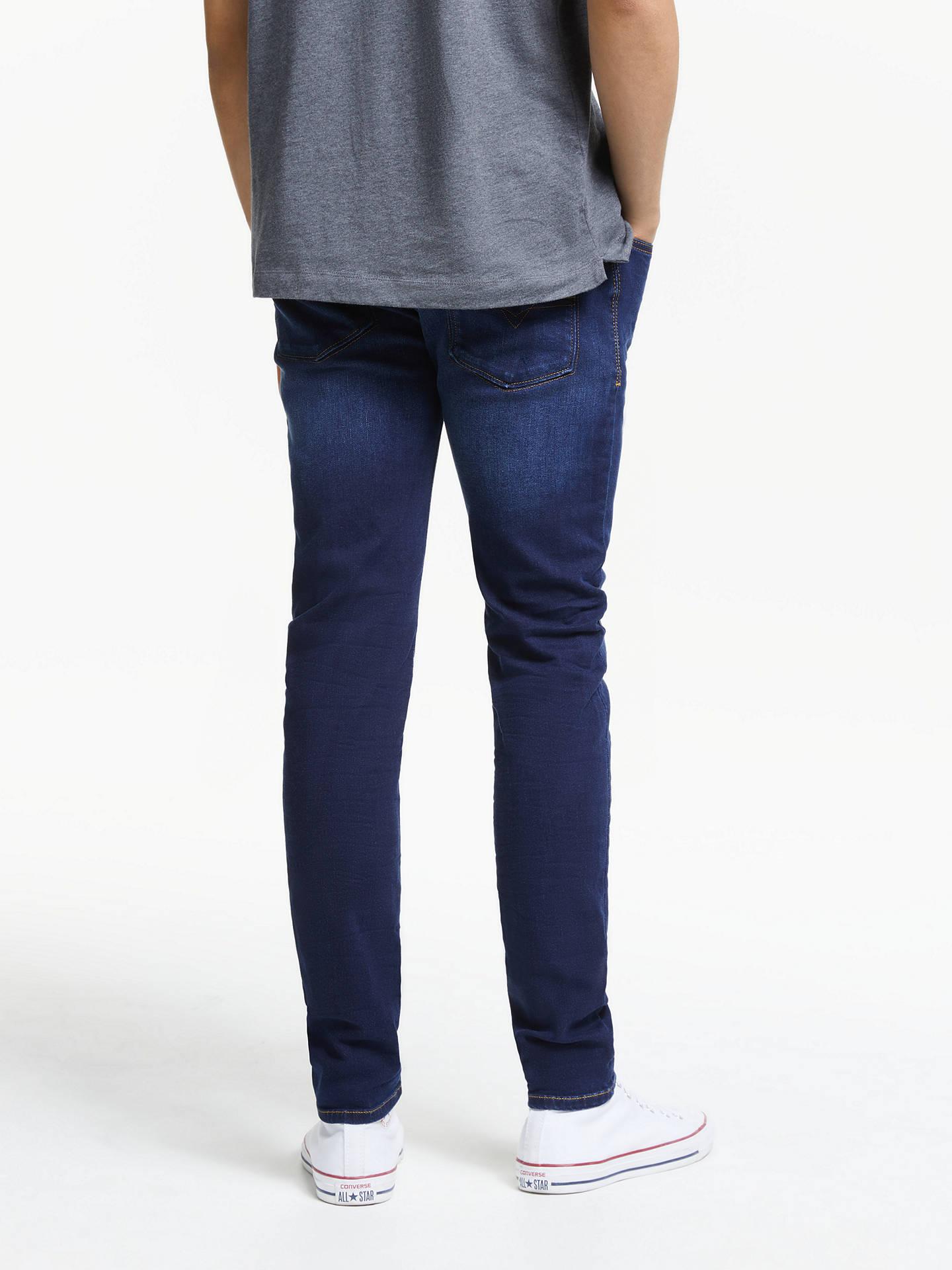 85a836f9 ... Buy Diesel Sleenker Skinny Jeans, Blue, 30S Online at johnlewis.com ...