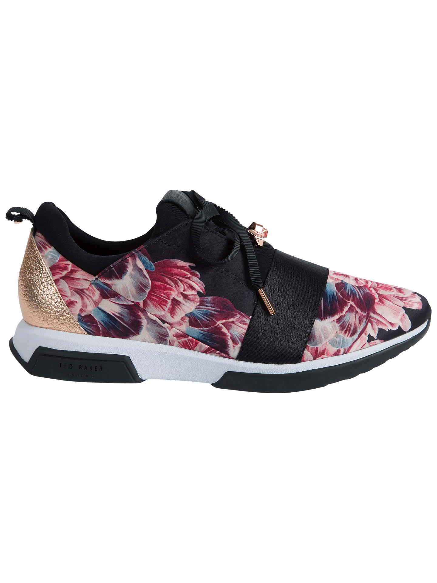 BuyTed Baker Cepap2 Floral Textile Trainers, Multi, 3 Online at johnlewis.com