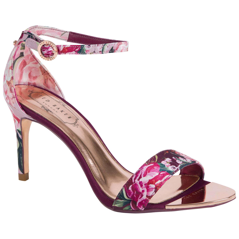 Ted Baker Mylli Serenity Floral Stiletto Heel Sandals, Multi