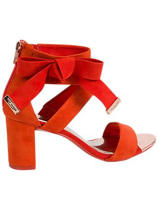 Ted Baker Noxen 2 Cross Strap Bow Sandals