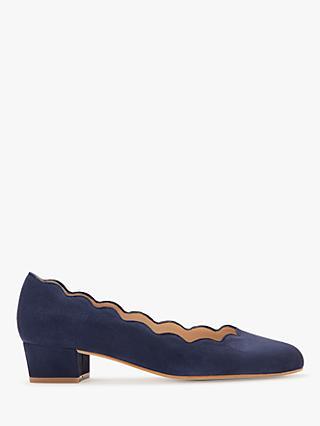 b679f83f672 John Lewis   Partners Aiyana Scallop Mid Heel Court Shoes