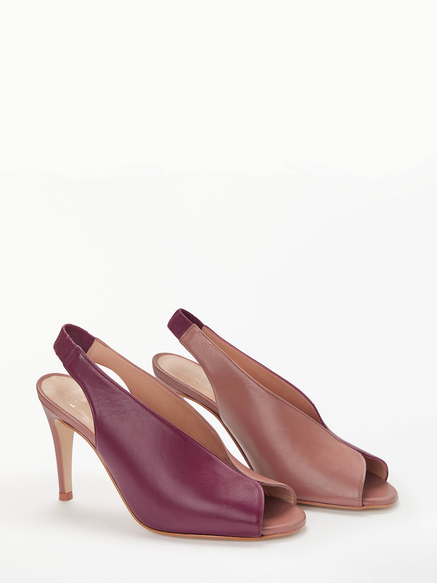 BuyJohn Lewis & Partners Bella Slingback Court Shoes, Multi Leather, 5 Online at johnlewis.com