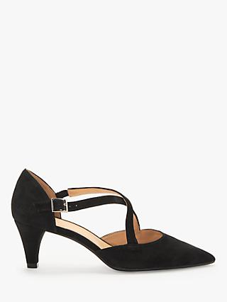 John Lewis & Partners Adaline Block Stiletto Court Shoes