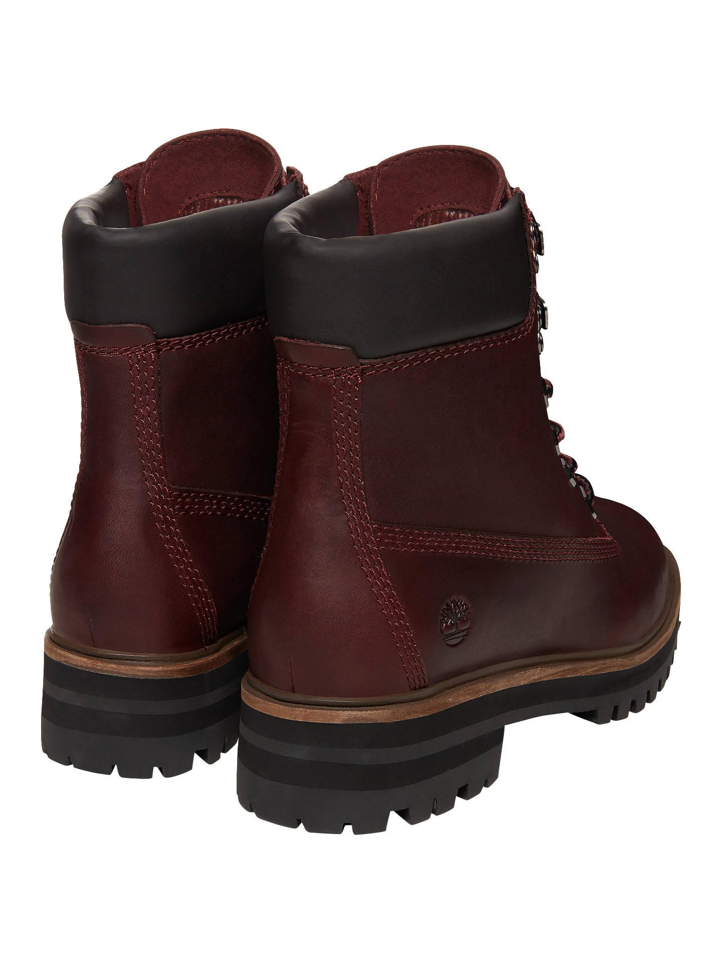 apilar reporte Majestuoso  Timberland London Square 6 Inch Boots | Burgundy at John Lewis & Partners