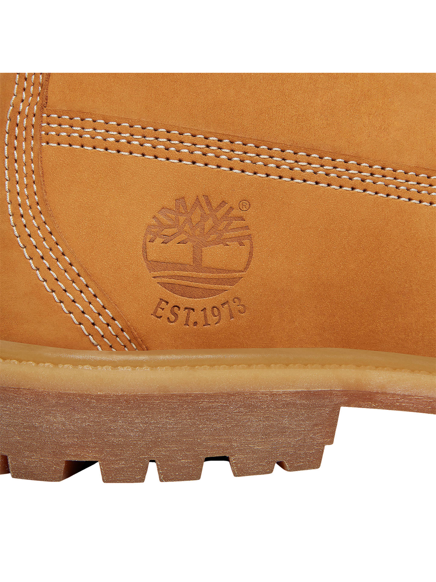 Buy Timberland Women's Classic 6-Inch Premium Waterproof 45 Year Anniversary Boots, Yellow, 4 Online at johnlewis.com