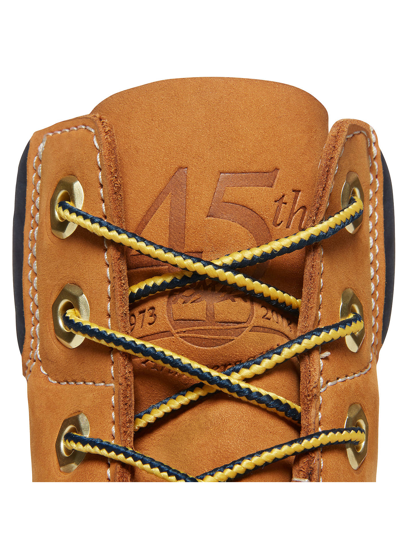BuyTimberland Women's Classic 6-Inch Premium Waterproof 45 Year Anniversary Boots, Yellow, 4 Online at johnlewis.com