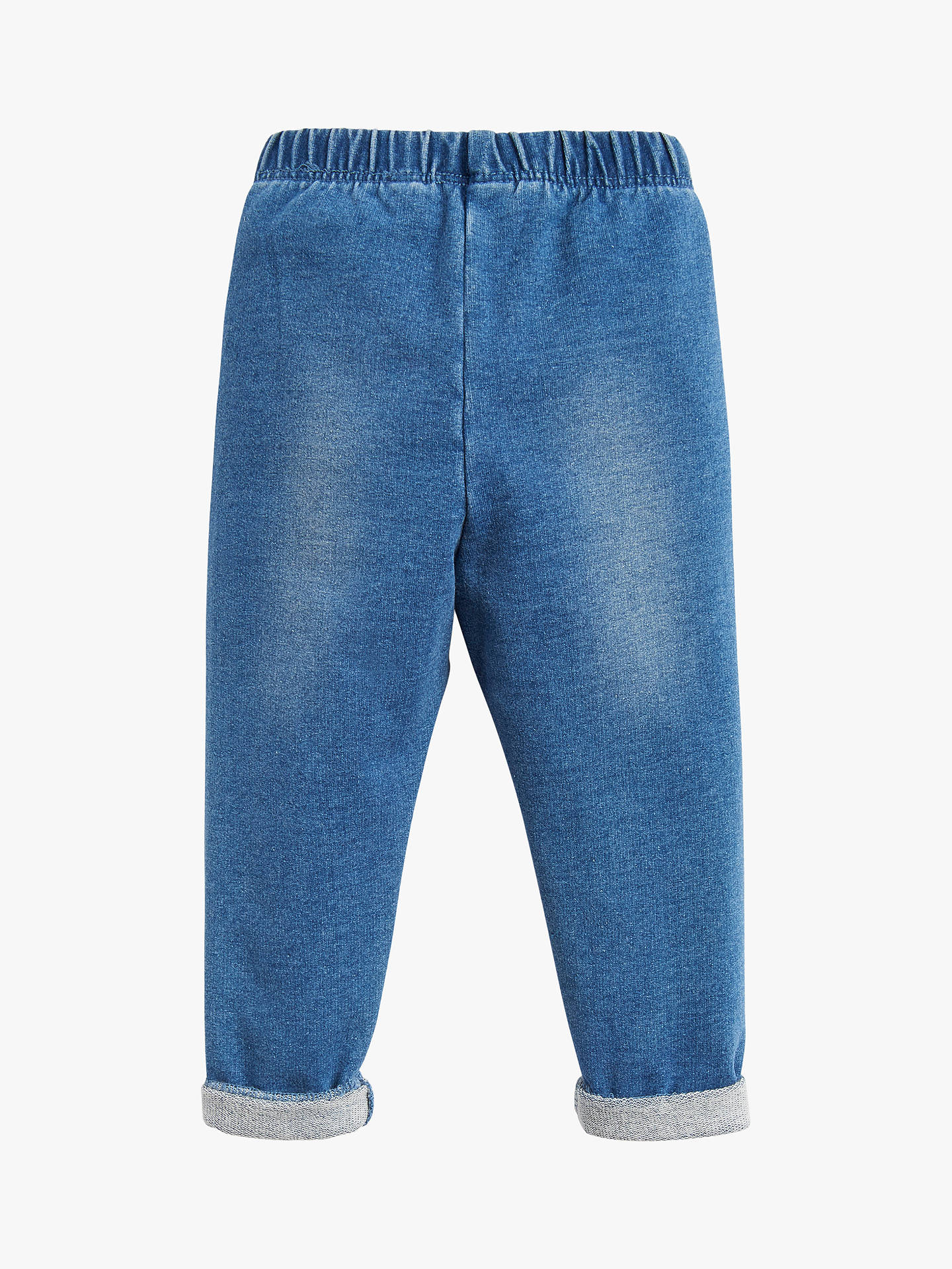 BuyBaby Joule Young Minnie Denim Leggings, Blue, 0-3 months Online at johnlewis.com