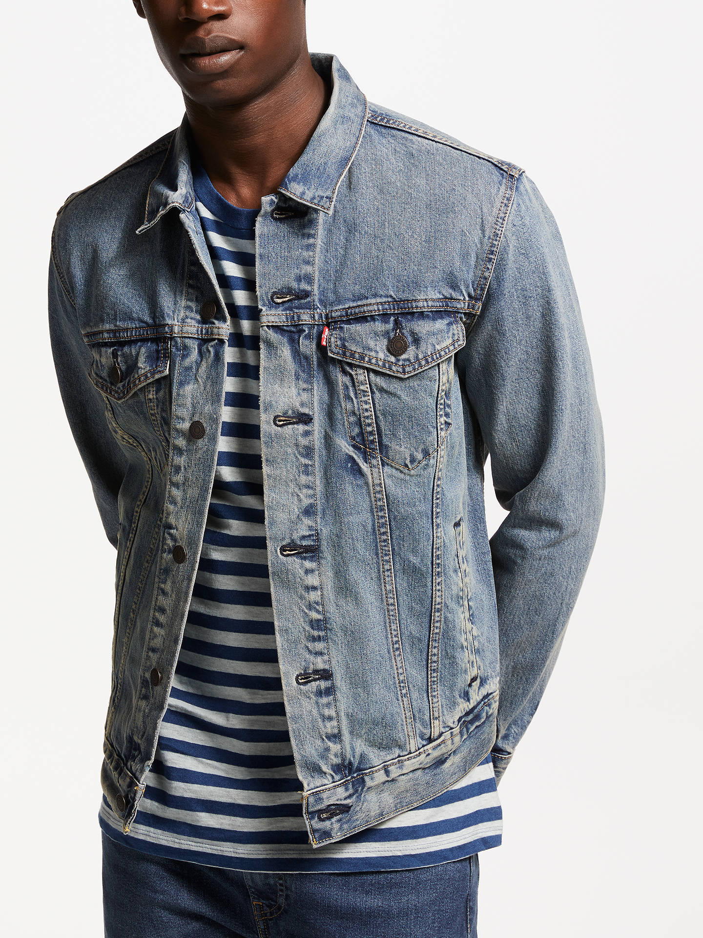 52b5e0e368f Levi s The Trucker Denim Jacket at John Lewis   Partners