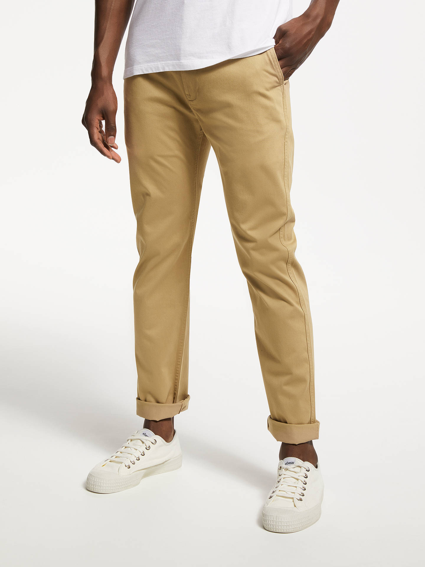 Levi S 502 Regular Tapered Chinos At John Lewis Amp Partners