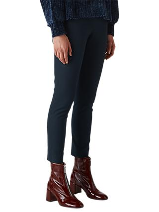 Whistles Super Stretch Trousers, Navy