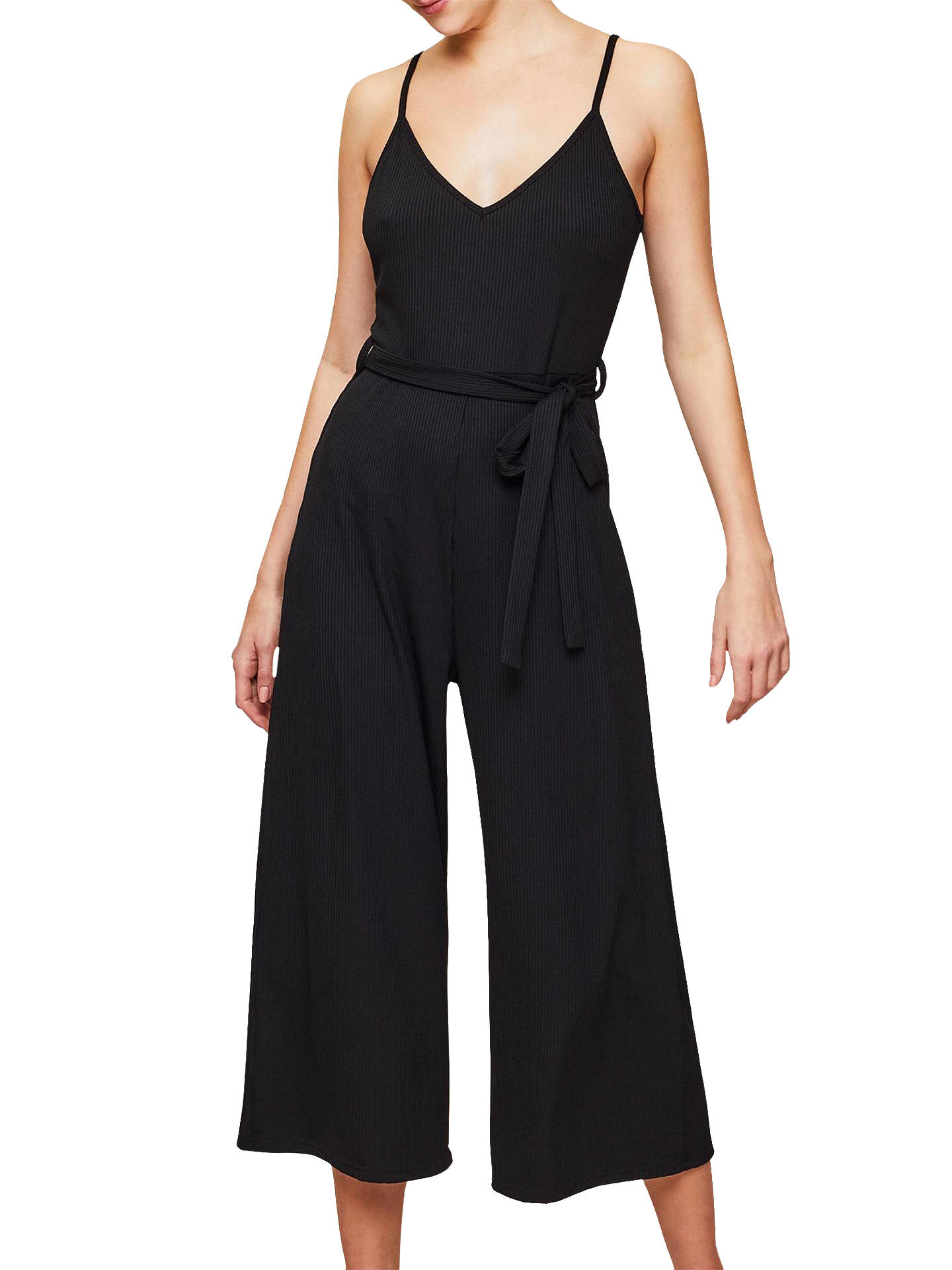 33af75982ea Buy Miss Selfridge Ribbed Culotte Jumpsuit