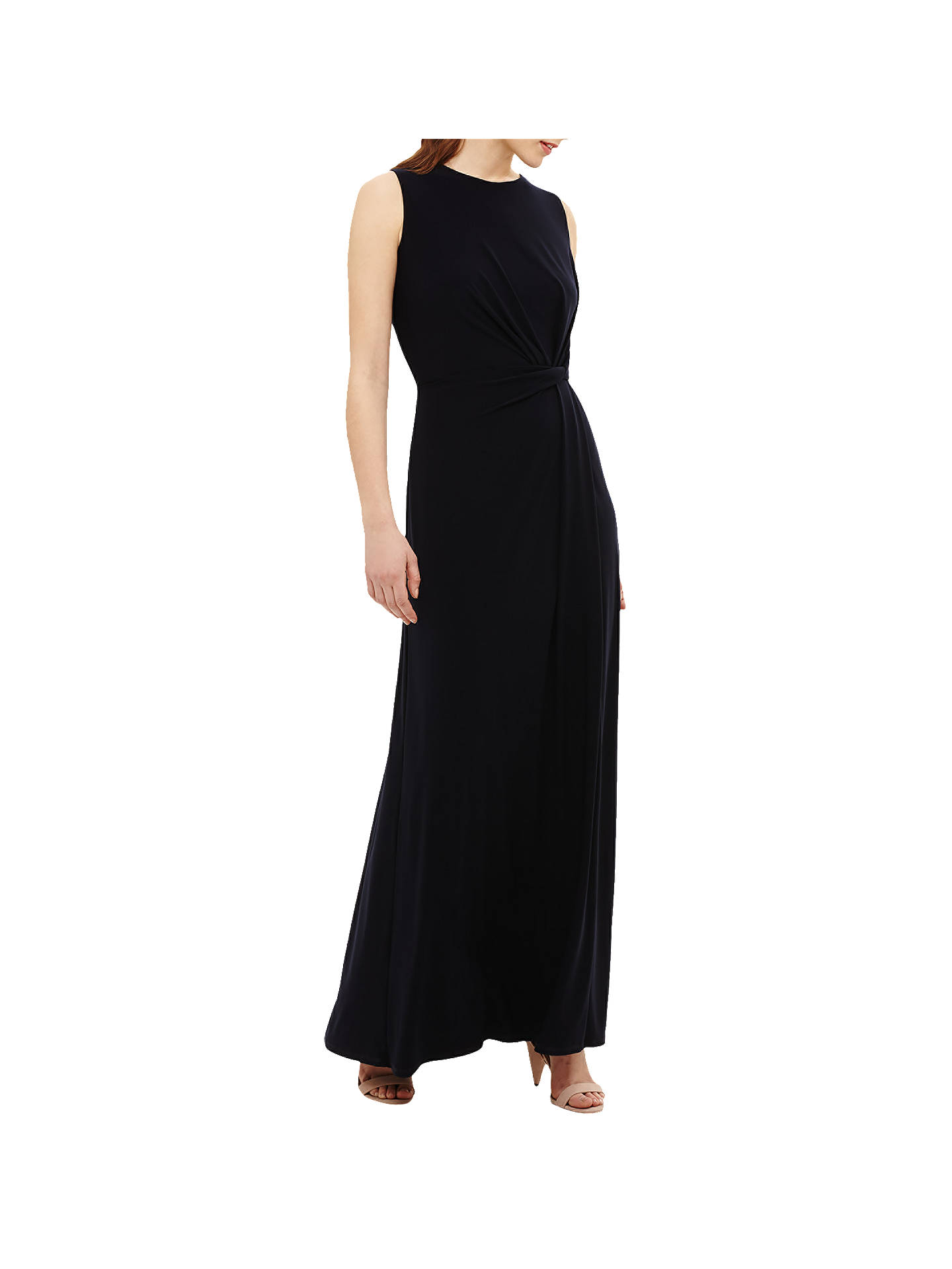 6f3ffbe209b Buy Phase Eight Carrie Jersey Maxi Dress, Navy, 6 Online at johnlewis.com  ...