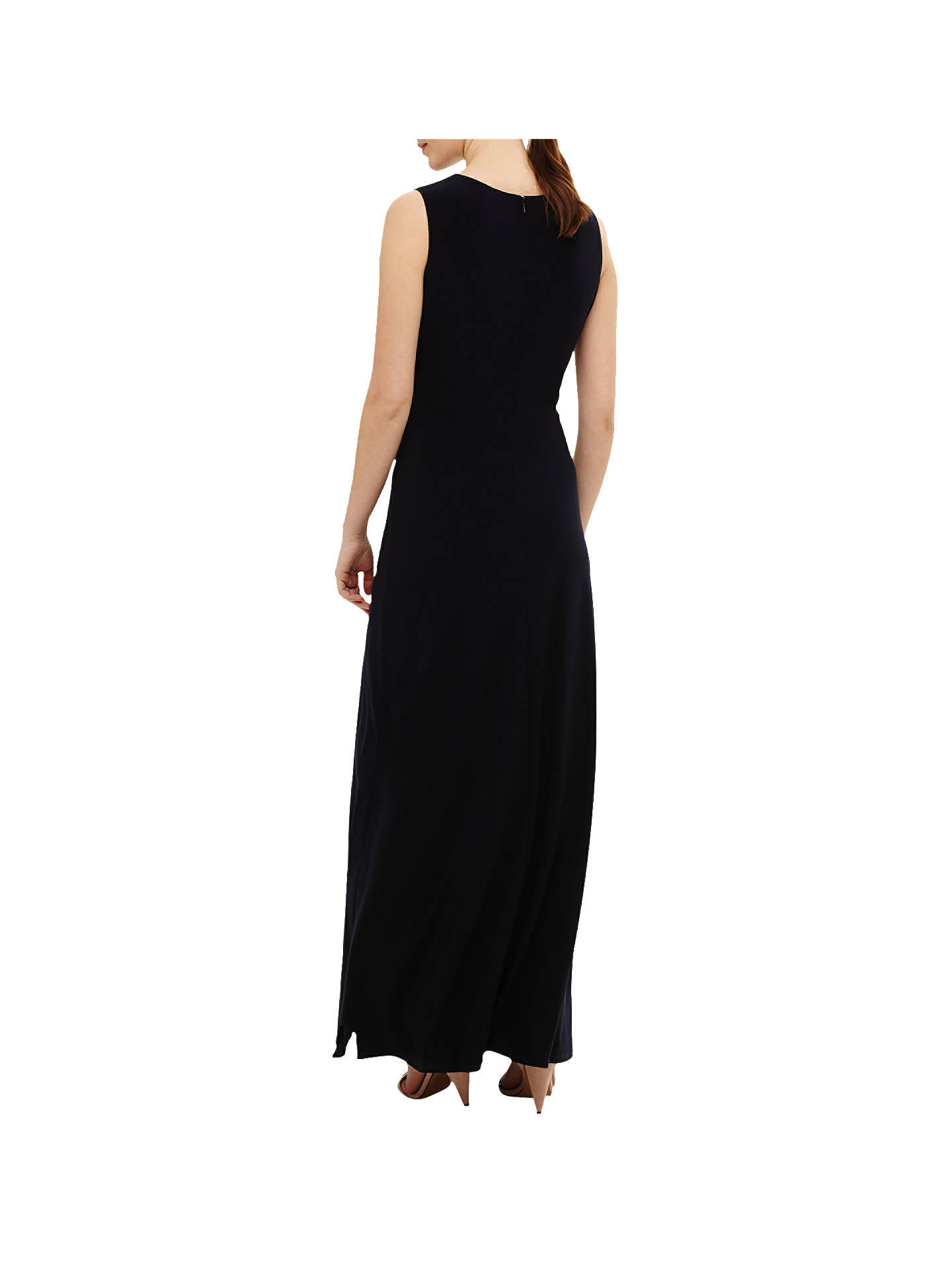23f4621681c ... Buy Phase Eight Carrie Jersey Maxi Dress, Navy, 6 Online at  johnlewis.com ...