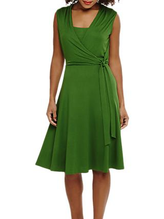 Phase Eight Wendelin Wrap Dress, Green
