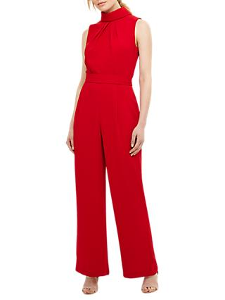 Phase Eight Cressida Jumpsuit, Carmine