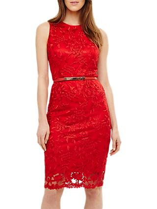 Phase Eight Alina Dress, Carmine