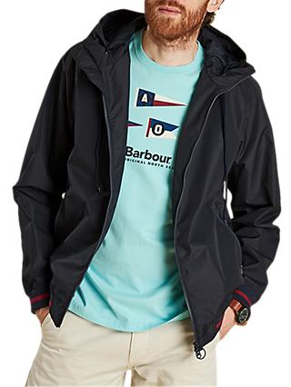 Barbour Twent Waterproof Jacket, Navy