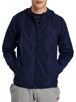 Barbour International Hooded Jacket, Deep Blue
